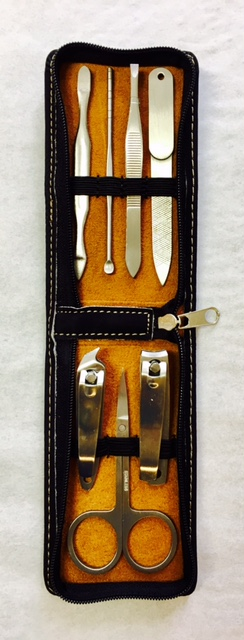 No. GFT257 - Leatherette Manicure Set